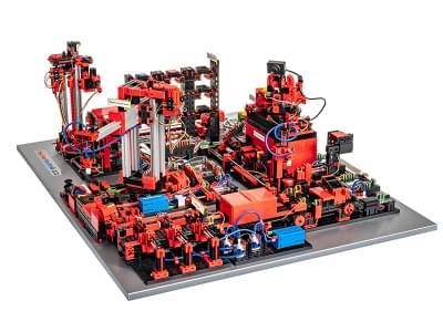 551584 - Training Factory Industry 4.0 9V - Simulation