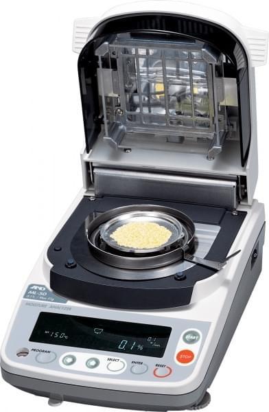 ML-50 - Váha pre zisťovanie vlhkosti