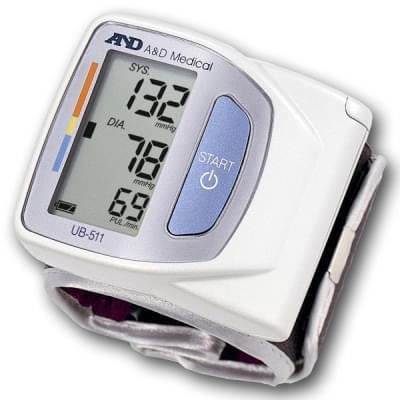 Tlakomer UB-511 - zápästný merač krvného tlaku