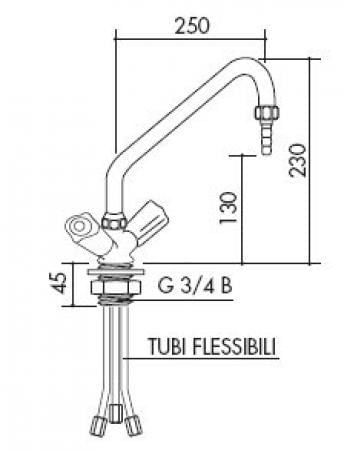 TOF 1000/281 - Laboratórna batéria - nízkotlaká