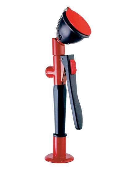 Výsuvná oční sprcha, jednoduchá, sklon hlavice 45° - TOF 1100/7