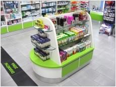Lékárna-Aesculap-Znojmo-Samoobslužný-regál