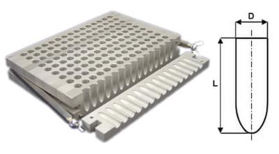 Liaca forma na čapíky 100 × 1g