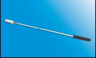 Špachtle nerezová s držákem z PVC, 170 mm