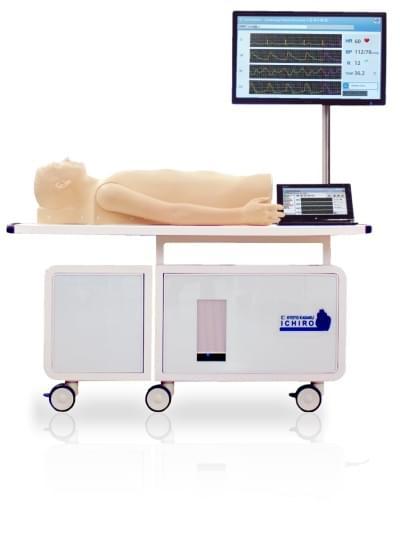 """MW10 - Kardiologický pacientský simulátor """"K"""" verzia 2"""
