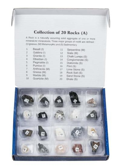 7037 - Sada 20 hornín - rôzny pôvod