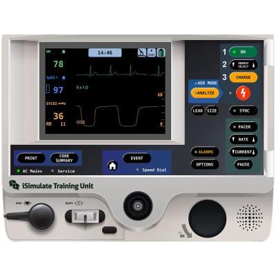 8000972 - Simulátor obrazovky pacientskeho monitoru LIFEPAK® 20 pre REALITi360