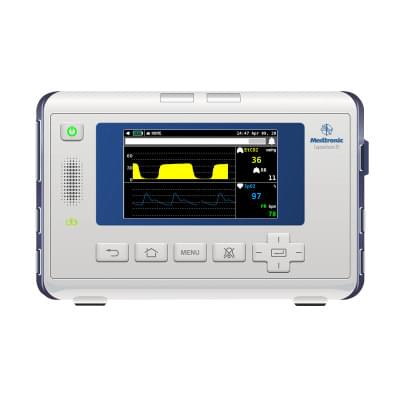 8000973 - Simulátor obrazovky pacientskeho monitoru Medtronic Capnostream™ 35 pre REALITi360