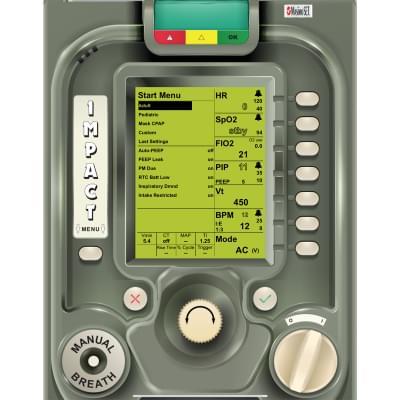 8001016 - Simulátor obrazovky ventilátoru ZOLL EMV+® pre REALITi360
