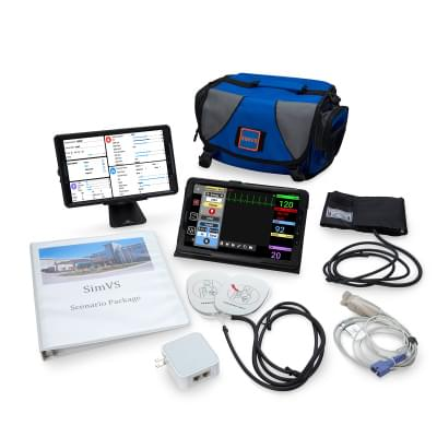 800102109 - SimVS simulačná platforma - SimVS nemocničný monitor a defibrilátor