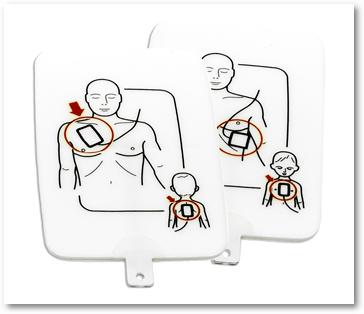 Náhradné elektródy - dospelý/dieťa
