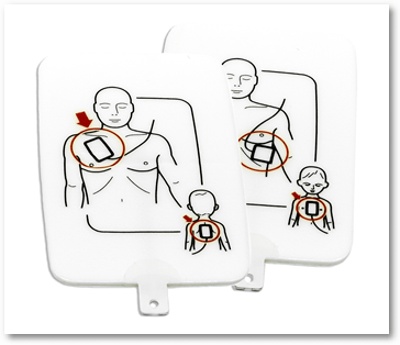 Náhradné elektródy - dospelý/dieťa (sada 4 ks)