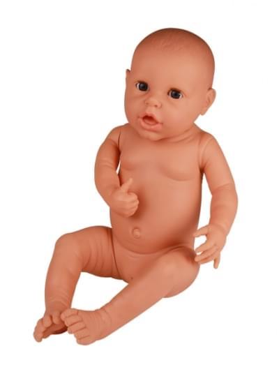 BA73 - Figurína novorodenca pre nácvik prebalovania, dievča