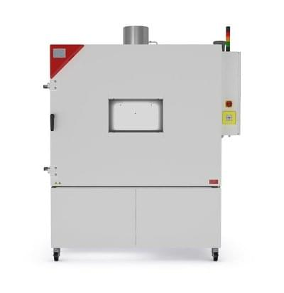 LIT MK 720 - Komora na testování baterií s bezpečnostní výbavou pro EUCAR LEVEL 6.