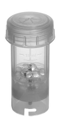 BMT-20G Vzorkovnice perlový mlýn (mlecí koule sklo)