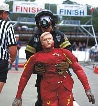 PP01435 - Dospelá figurína Randy pre výcvik hasičov 75 kg