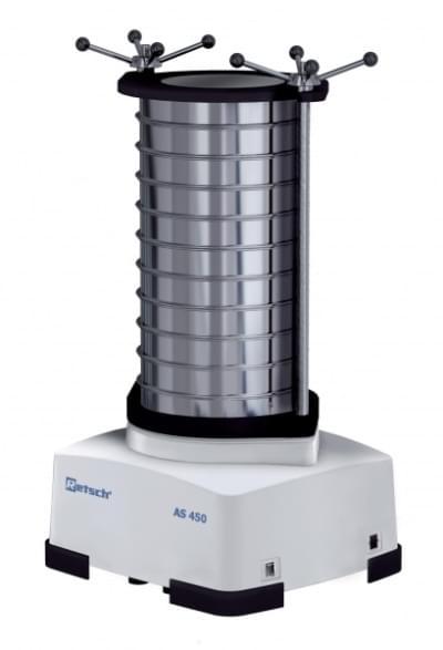 Analytický sítovací stroj AS 450 control, bez upínacieho zariadenia