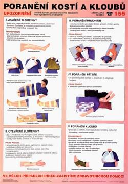 Poranenie kostí a kĺbov
