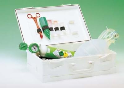 REASET - Resuscitační sada v ABS kufříku