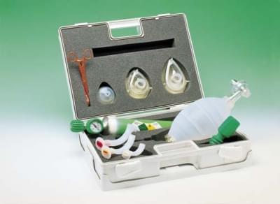 REACASE - Resuscitační sada v ABS kufříku