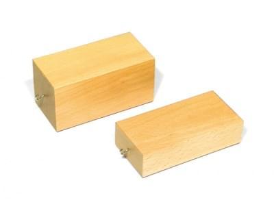 Dřevěné kvádry pro pokusy s třením