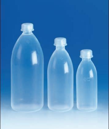 Fľaša, s úzkym hrdlom, PFA, 100 ml
