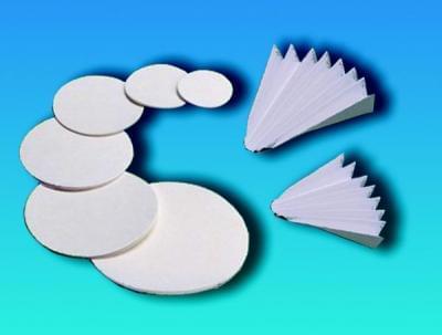 Kvalitativní filtrační papír - kruhový výsek zpev. za mokra, Typ 1289, průměr 70 mm