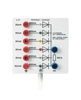 Světelné diody k určování h