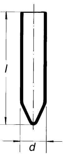 Zkumavka SIMAX se špičatým dnem a rovn. okrajem, centrifugační