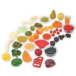 Duhová sada ovoce a zeleniny