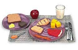 Sada vhodné stravy pro diabetiky