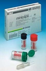 Kapiláry lekárske s úpravou heparínom sodným, 10 µl