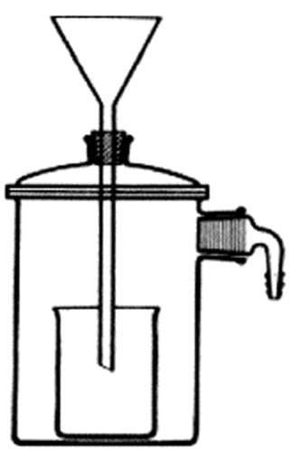 Zariadenie filtračné podľa Witta, priemer 70 mm