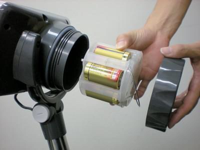 Váha A&D série SC - uložení baterií