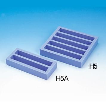 Gumová forma na sádrové kvádre na modelovanie zubov H5 (na 5 kvádrov)