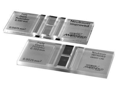 Komôrka počítacia s labkami, dvojité delenie sita, Fuchs-Rosenthal