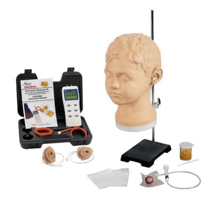 LF01066 - Diagnostický a procedurálny ušný trenažér s pneumatickou otoskopickou sadou