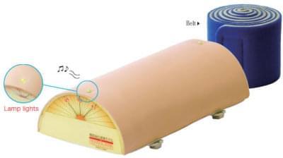 Nácviková podložka pre akupunktúru (so svetelnou kontrolkou a bzučiakom)