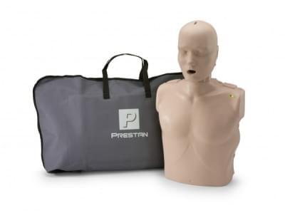 Prestan KPR-AED figurína dospelého človeka s KPR monitorom