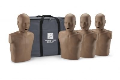 Prestan KPR-AED figurína dieťaťa s KPR monitorom - balenie 4 ks