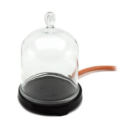 1402 - Vakuový zvon s podstavcem, levný model