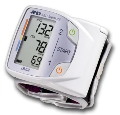 Tlakomer UB-512 - zápästný merač krvného tlaku