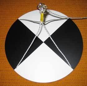 Secciho doska kruhová - Meranie priehľadnosti vody