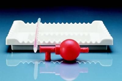 Podnos Hlboký na pipety, PVC - 285x215x40 mm