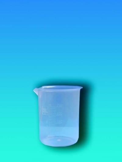 Kadička 100 ml, PP, priesvitná, lisovaná stupnica