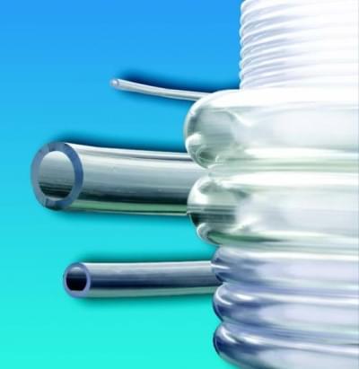 Hadice z mäkčeného PVC, priesvitná, nezávadná, Vnútorný priemer 4 mm - 4 x 6,5