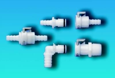 Rýchlospojky, celoplastové, samček, priemer olivky 6,4 mm - 6,4 (1/4 '')