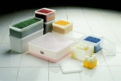 Container multipurpose, stackable, PE, indenting cap, 103 × 103 mm, 1000 ml