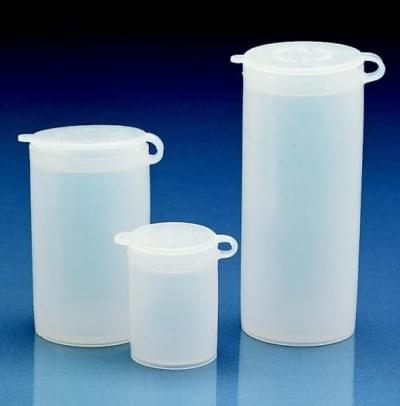 Nádoba na vzorky, LDPE, tesne zapadajúce výklopné viečko, 50 ml