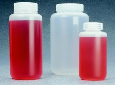 Fľaša centrifugačná, PP, max. zátěž 7 100 × g, 1 000 ml, výška 185 mm